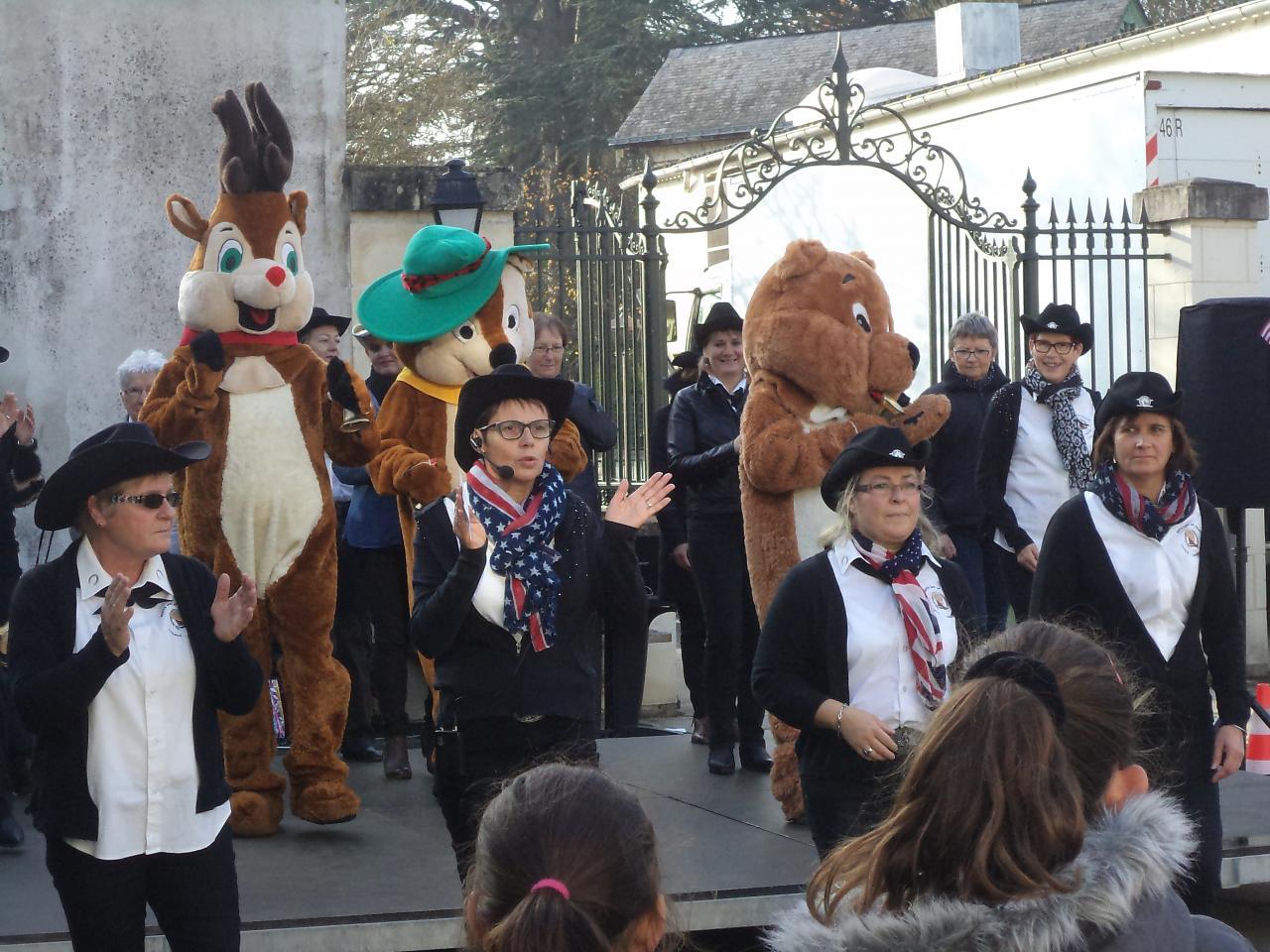 Marché de Noël LOngué